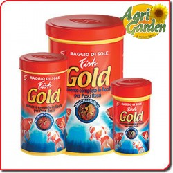 MANGIME PER PESCI Fish Gold 100 ml RAGGIO DI SOLE