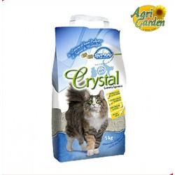 LETTIERA IGIENICA GATTI Crystal Sepiolite Sapone di Marsiglia 5 kg