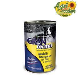 Granforma Umido Cani Pollo e Tacchino 400 g