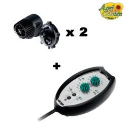 Kit 2 x Pompe di circolazione NWA 2.7 + Controllore Newa