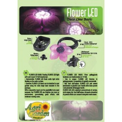 FLOWER LED BASIC 3,5W 12V/50Hz- c/Trasf. EU 6