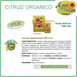 CONCIME CITRUS ORGANICO PER AGRUMI NEEM 1,5 KG