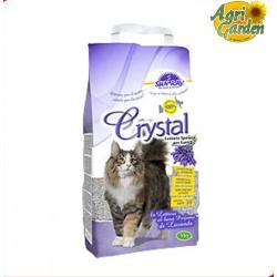 LETTIERA IGIENICA GATTI Crystal Sepiolite Lavanda 5 kg