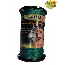 Lacme Filo Mirza recinzioni per cani 200 mt