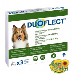 DUOFLECT soluzione.spot-on Cani 20-40 Kg.