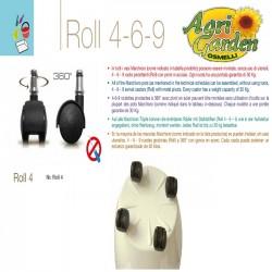 ROLL 4 BORA NERO X Vaso Bora